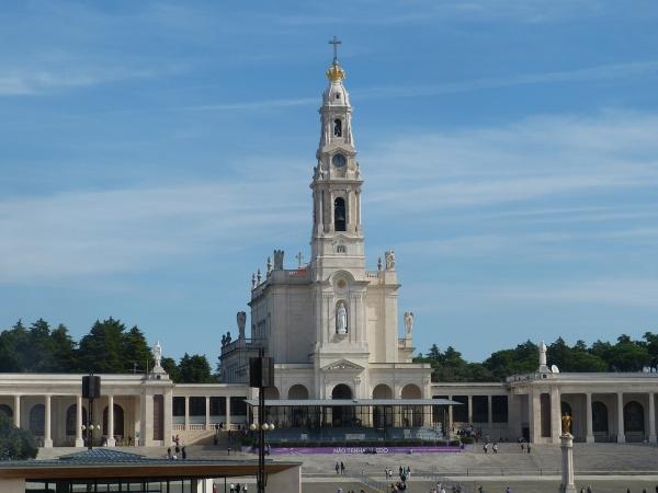 Das Heiligtum von Fatima.