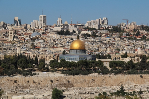 Blick auf Jerusalem. – Foto: reijotelaranta-pixabay.com