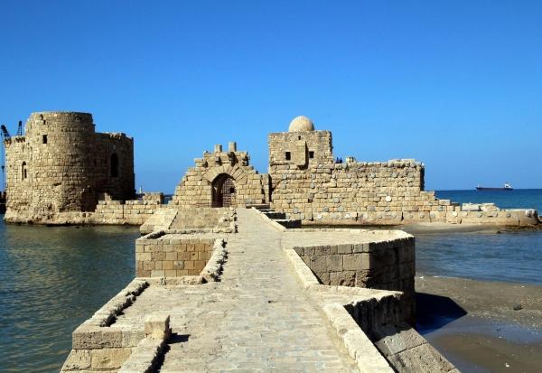 Die Stadt Sidon im Libanon wurde 1110 vom Kreuzfahrerkönig Balduin I. von Jerusalem erobert. – Foto: mesuttoker-pixabay.com