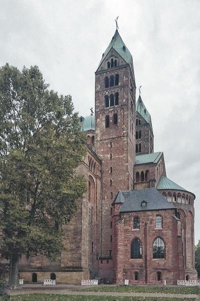 Fast 1.000 Jahre ist der Dom zu Speyer alt.