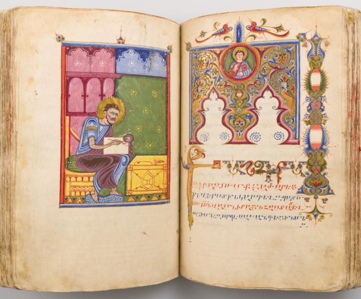 Foto: Metropolitan Museum of Art, Evangelist Lukas, Armenien, 1434/35