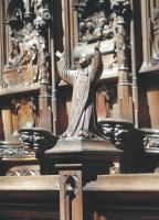 Das Chorgestühl der Kathedrale ist sehr liebevoll gearbeitet. Foto:NG