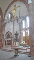 Blick in die Kirche von Løgumkloster.