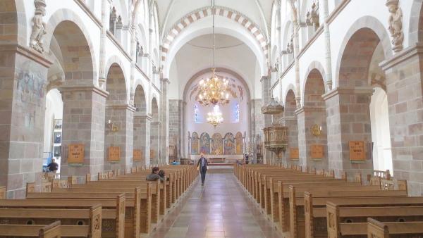 Blick in die Domkirche von Ribe.